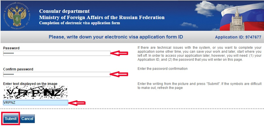Russian Visa Instructions 107